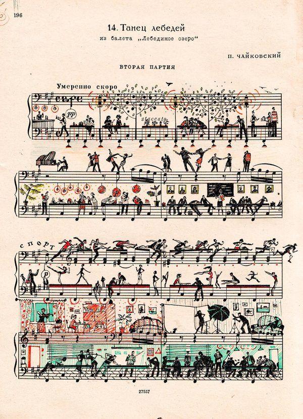 portées de musique !