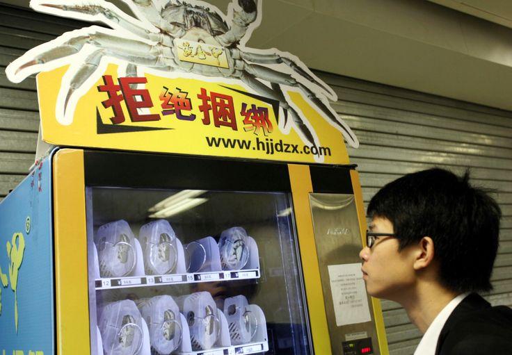 As vending machines pelo mundo