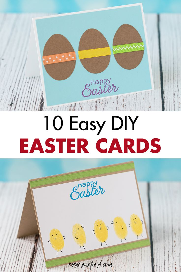 diy easter cards religious