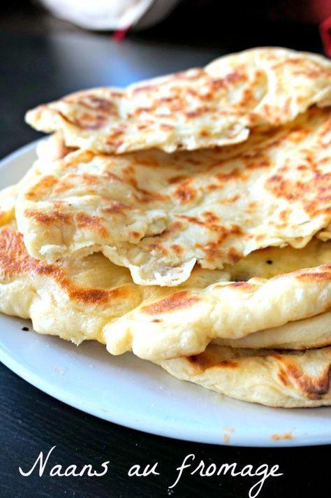 Une recette de naan au fromage fin, moelleux, gonflé... une merveille pour vos repas indiens!