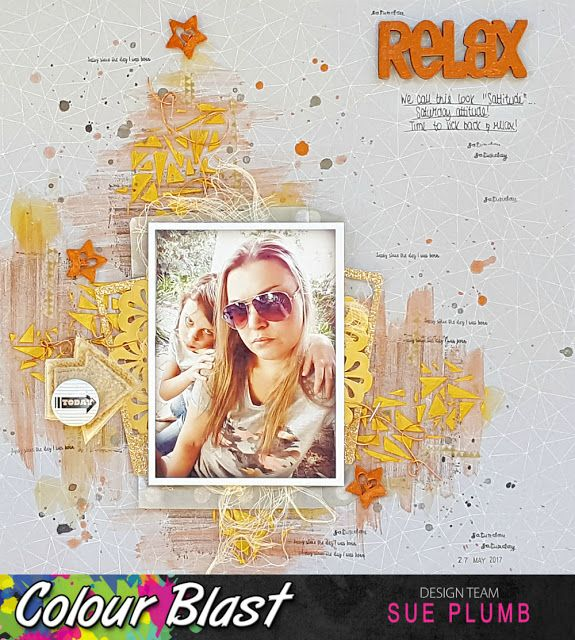 Look into my life: Relax | Colour Blast | Sue Plumb
