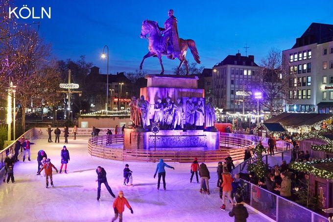 ドイツ ケルンのスケート場の画像
