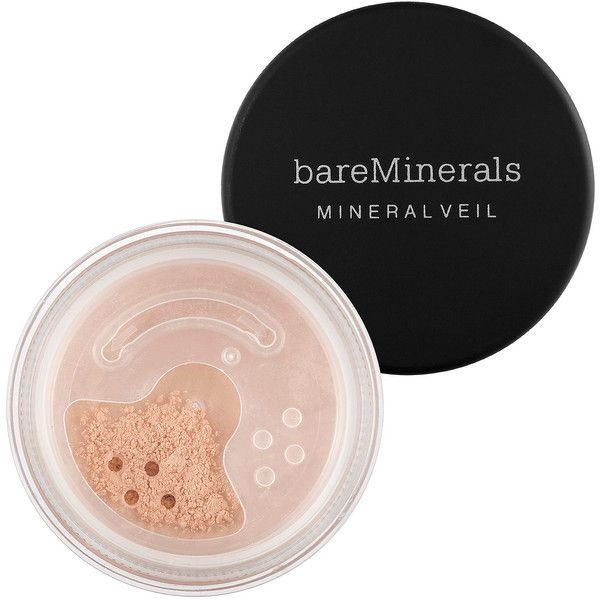 bareMinerals Mineral Veil (65 BRL) ❤ liked on Polyvore featuring beauty products, makeup, face makeup, bare escentuals makeup, mineral cosmetics, mineral makeup, paraben free makeup and bare escentuals cosmetics