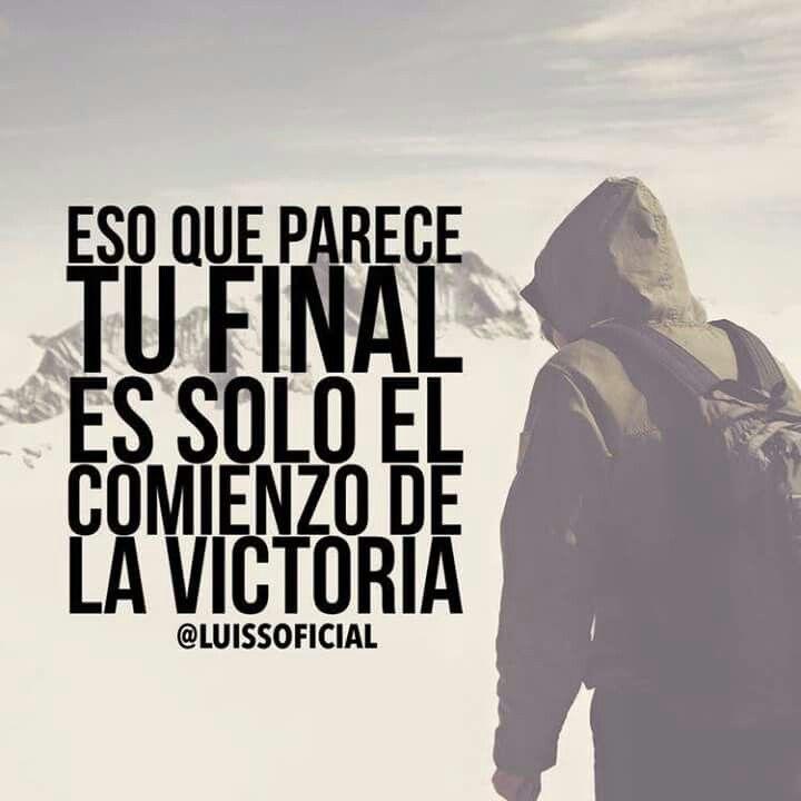 Un final es una oportunidad de comenzar de nuevo intentado dar lo mejor ❤️