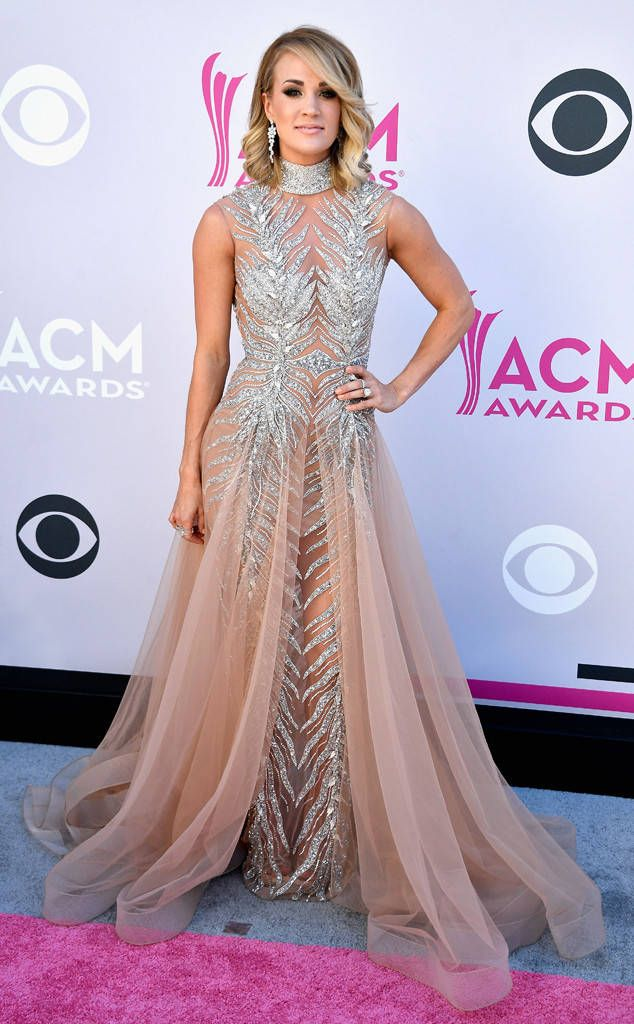 Carrie Underwood from ACM Awards 2017: Red Carpet Arrivals  No surprise here, this country music superstar can shut down a red carpet like nobody's business.