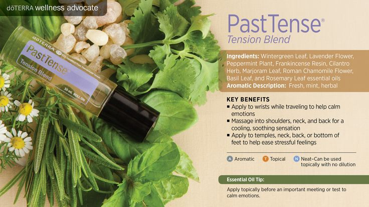PastTense Tension Blend - For more information on using essential oils to improve your families health & wellness, sign up to our Essential Wellness Newsletter https://horizonholistics.uk/essential-wellness-newsletter/. To purchase and SAVE 25% open a wholesale wellness account and receive a FREE Wellness Consultation https://horizonholistics.uk/wholesale-wellness-account/.