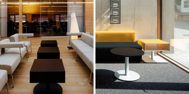 T-Meeting Beistelltisch - Bene Büromöbel