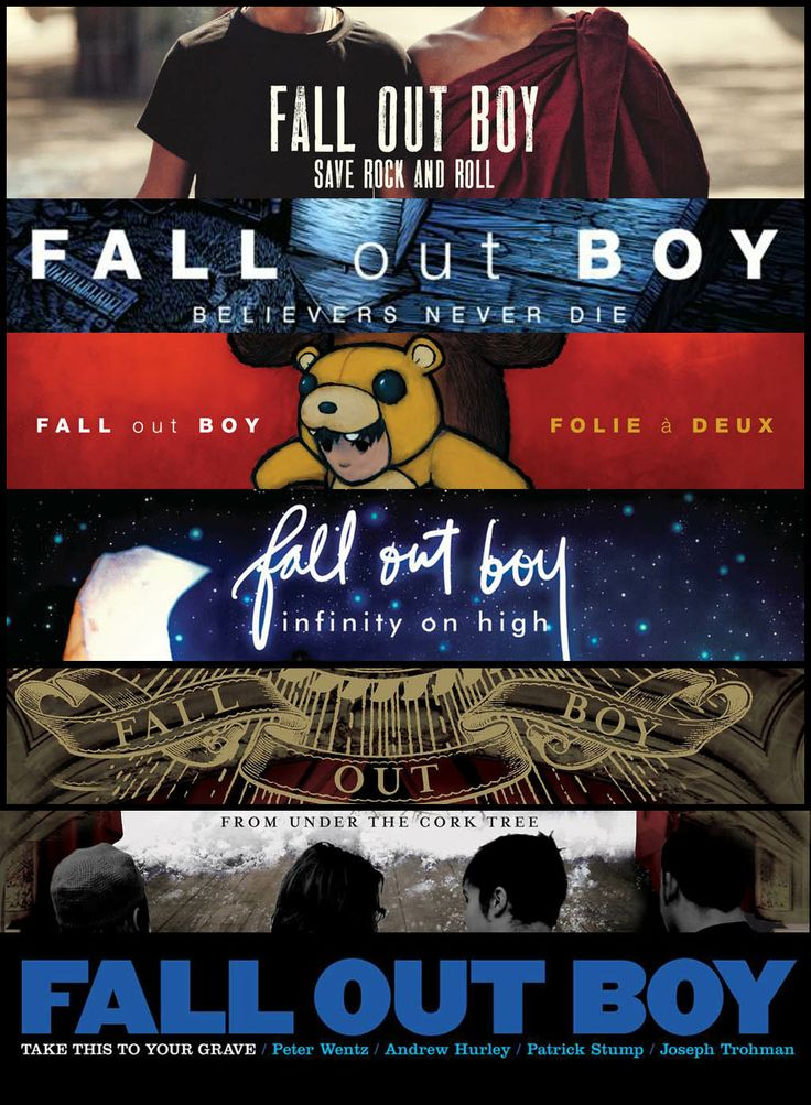 Fall Out Boy's Album History so far... Save Rock And Roll ...