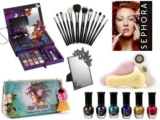 Gift Ideas for Teen Girls - Makeup and Skin Care Gifts
