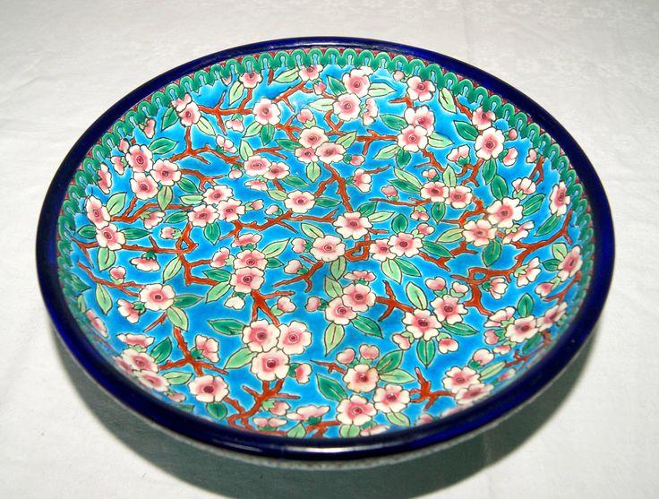 Longwy bowl 1919 - 1939