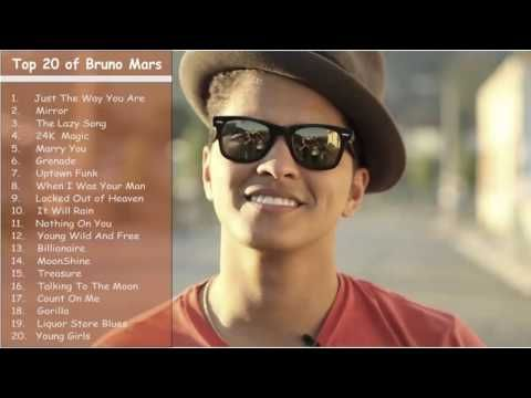 Best of Bruno Mars January 2017 | Latest & Top songs Jukebox - YouTube