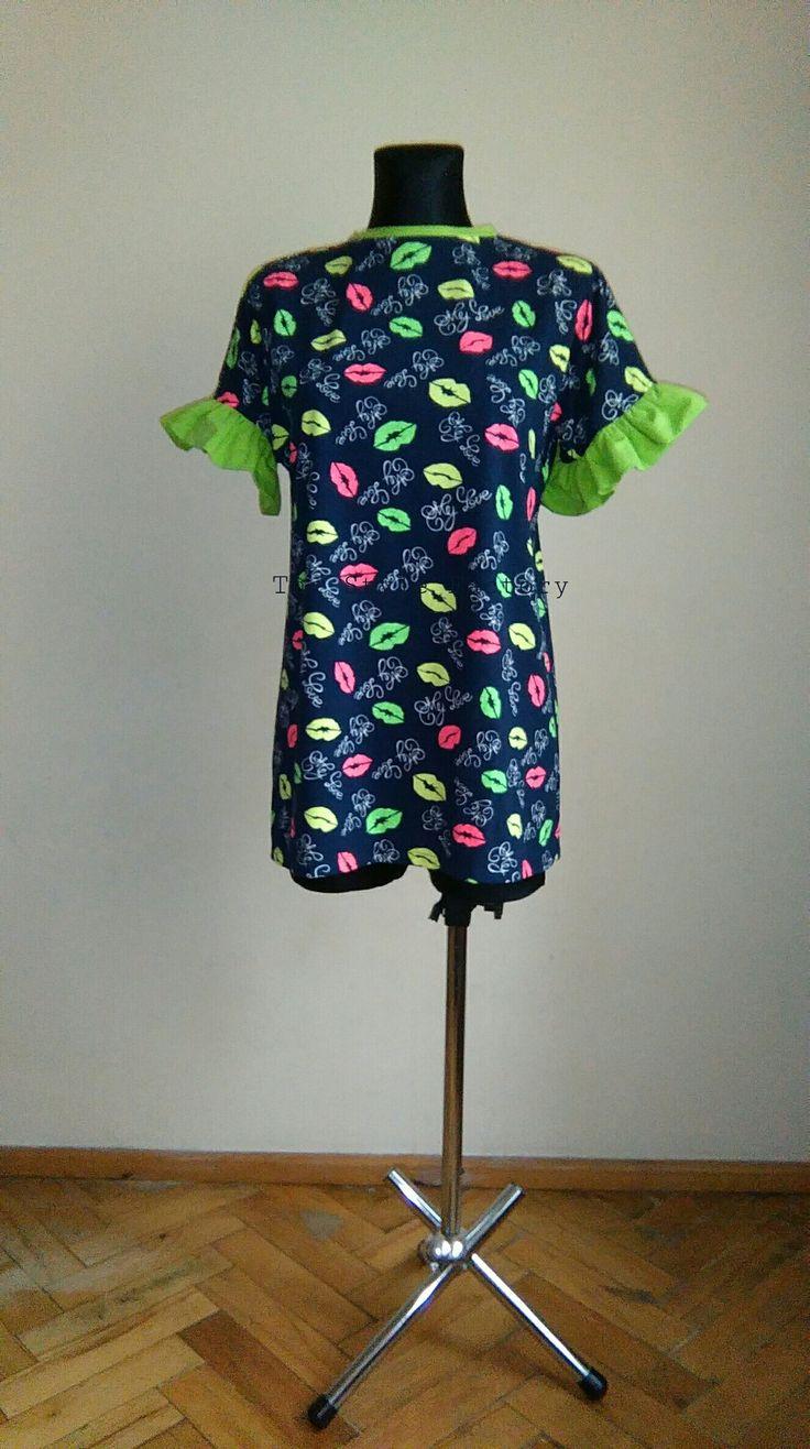 Dress with nadurkiem mouth // thestylefactory.pl //