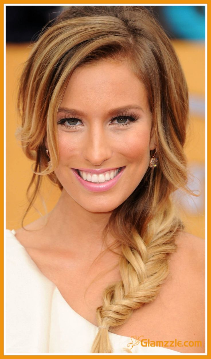 fishtail braided hairstyle for engagement party ? | hair & make-up