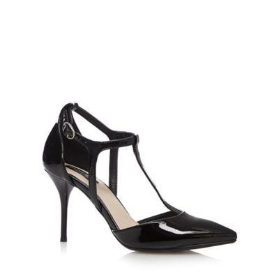 Principles by Ben de Lisi Designer black patent T-bar high court shoes- at Debenhams.com