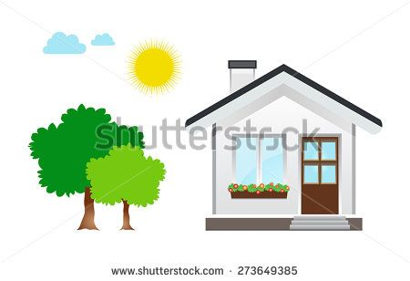 This image is a vector file representing a House Icon vector design illustration./House Icon Vector Illustration/House Icon Vector Illustration