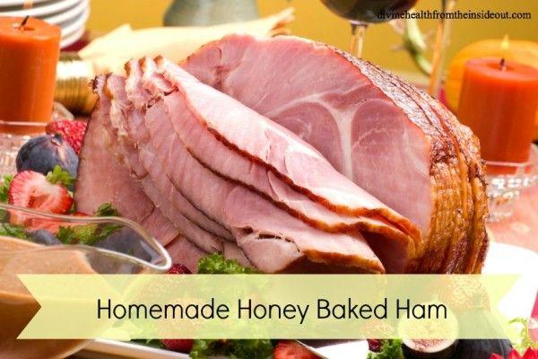Healthier Honey Baked Ham