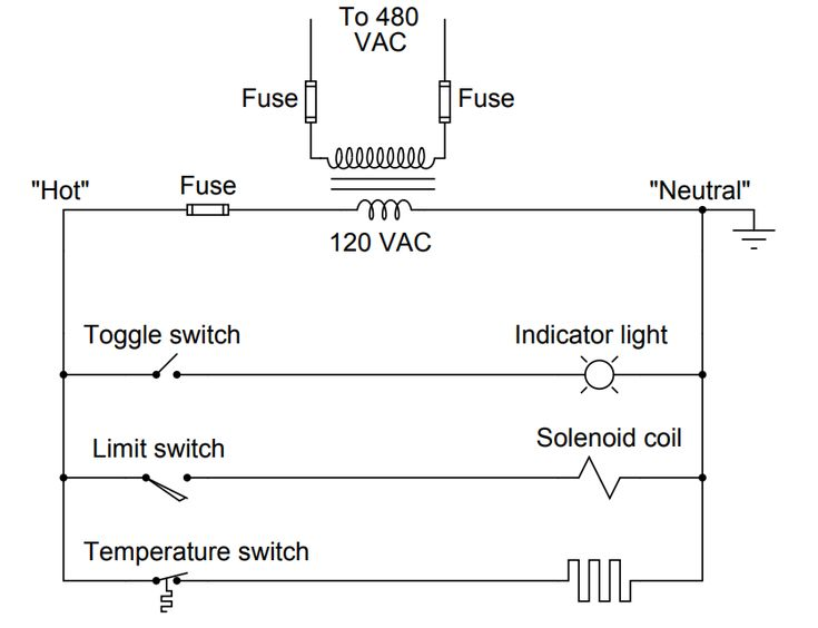 How To Draw A Schematic Diagram Diagram Ac Power Neutral