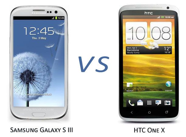 Samsung Galaxy S3 vs HTC One X, Who is the king of the smartphones?