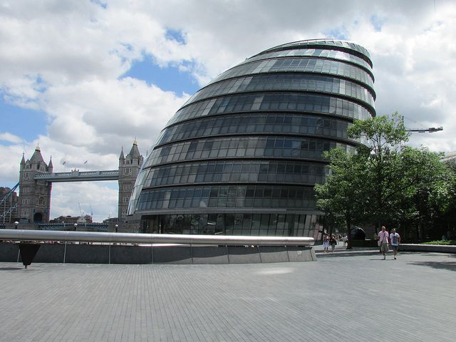 Structure - The Mayor of London's offices has a very unique structure and form. This unusual building is the headquarters of Boris Johnson, this piece of architecture has become a popular building to visit.