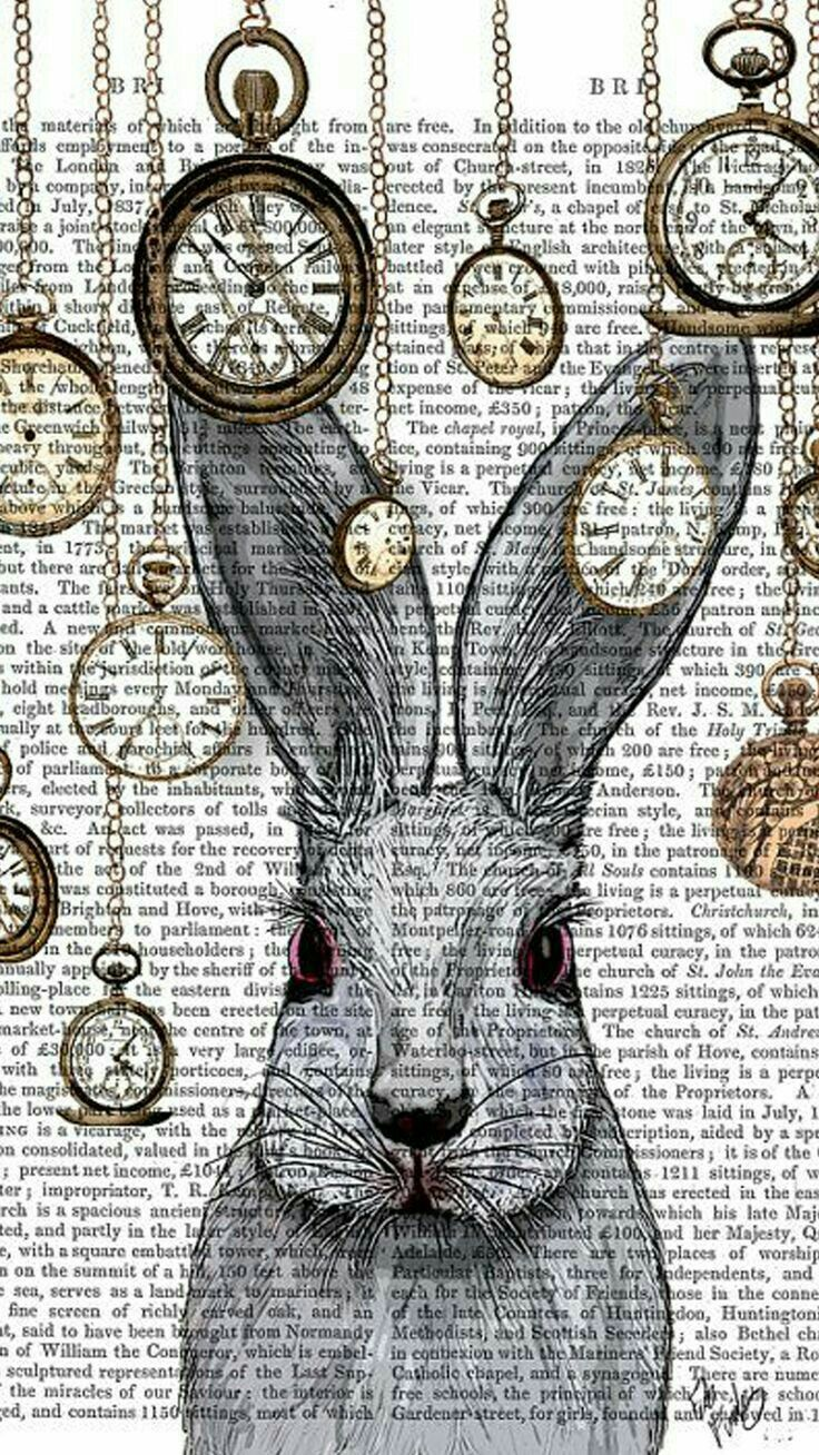 The rabbit is always late