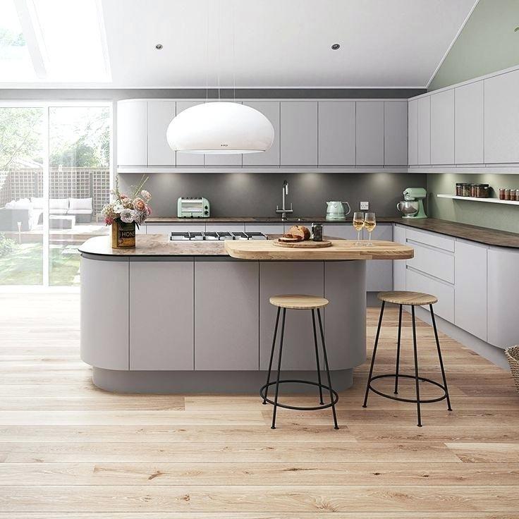 Image Result For Floors For Grey Kitchen Graue Kuchen Kuche Hellgrau Kuchendesign