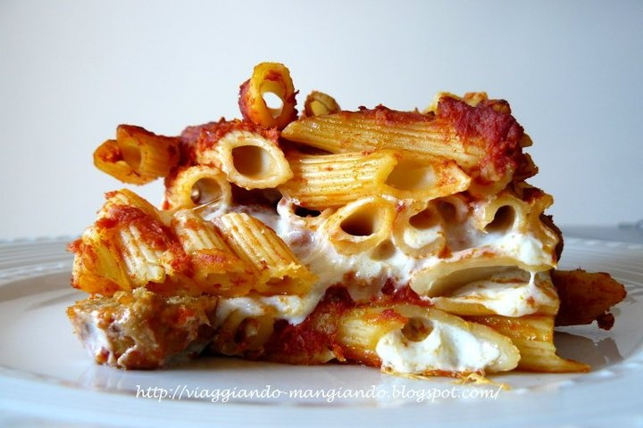 pasta al forno with meatballs | recipies from my foodblog | Pinterest