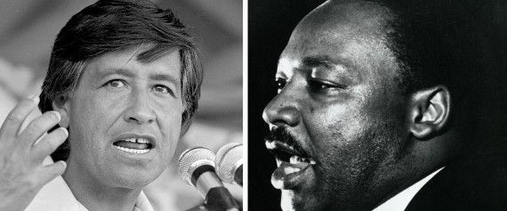 CESAR CHAVEZ MARTIN LUTHER KING
