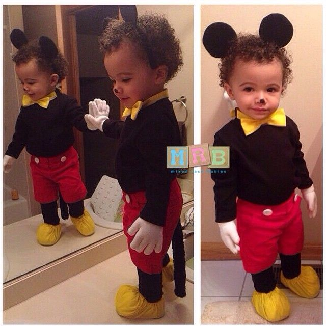 Romanian, French, Irish, African American & Mexican -Mixedracebabies Instagram