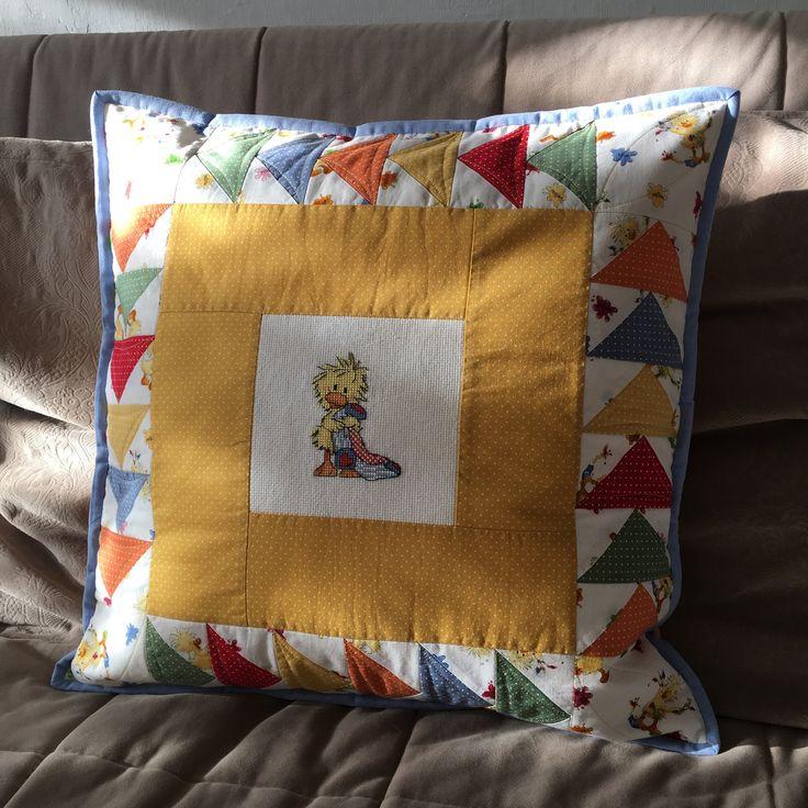 Руки Делают: Подушка к одеялу)
