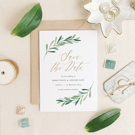 This listing is an INSTANT DOWNLOAD that includes a high resolution Save the Date template in both Word and Pages format for you to edit and print at home or your local copy shop. Save time and money by editing and printing your own wedding stationery! ✿ DOWNLOAD INCLUDES ✿ -------------------------------------------- 5 x 7 Save the Date............(2 per 8.5x11 page) Instruction Guide   ✿ HOW IT WORKS ✿ -------------------------------------------- • Install the suggested free fonts • Edit…
