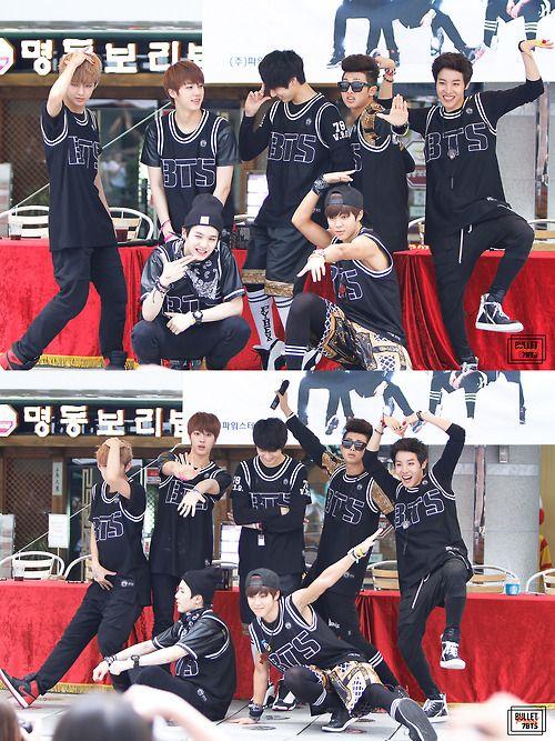 BTS or Bangtan Boys or Bulletproof Boy Scouts