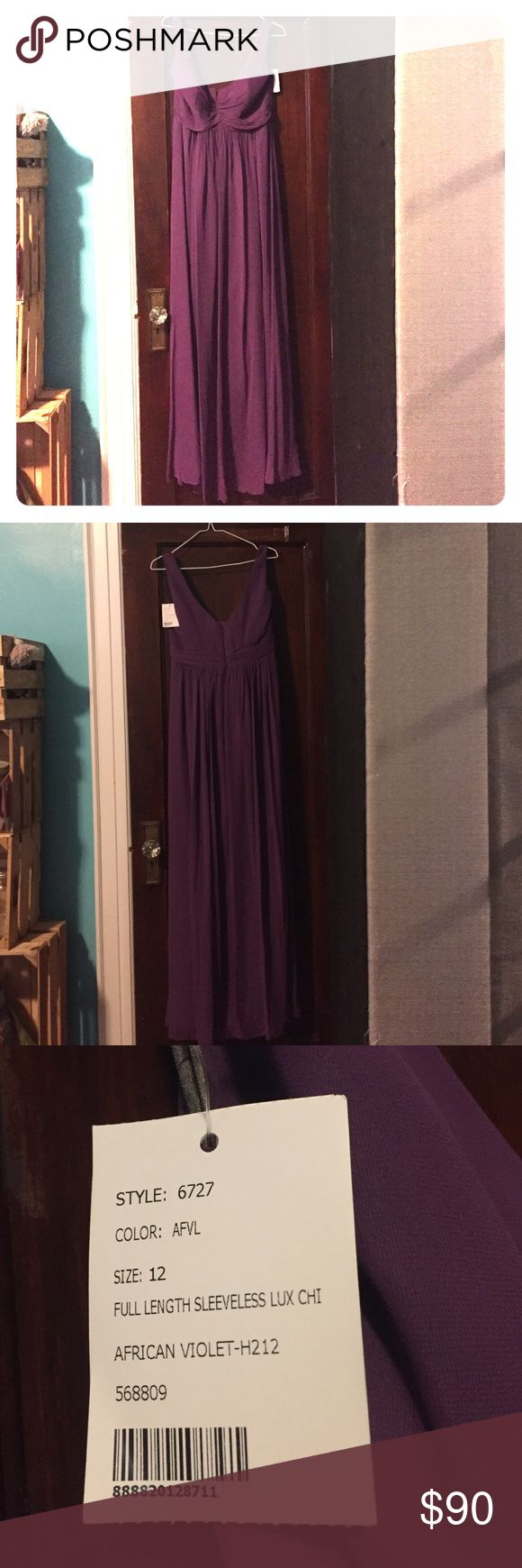 African violet 6272 After Six Bridesmaid dress African violet bridesmaid gown. Never warn. Never altered. Tags on. Dresses Wedding