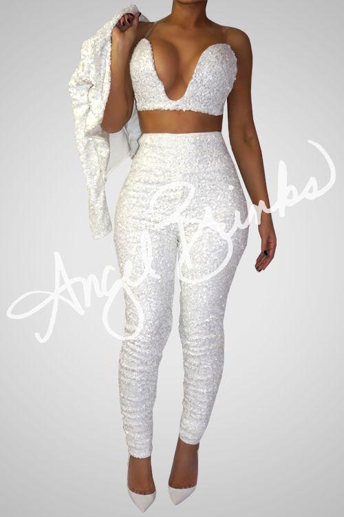 Glisten Set (White) | Shop Angel Brinks on Angel Brinks