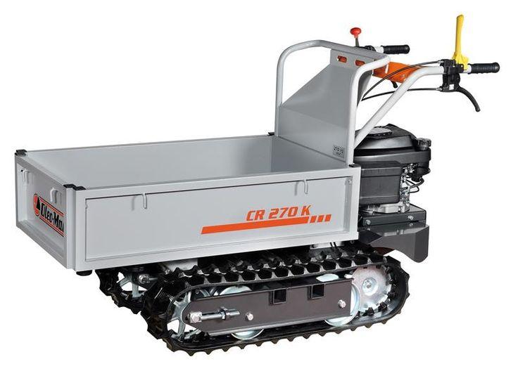 Transporter Oleo-Mac CR270K Angolo di ribaltamento a 45°, azionabile manualmente tramite una comoda leva. Cilindrata 159 cm3 Motore/marca modello Emak K 650 OHV Cambio 2 + 2 Velocità (Km/h) 1a: 1,60 – 2a: 3,60 - 1aR: 1,40 – 2a: 3,40 Lift/ribaltamento manuale Raggio minimo di sterzo 700 mm Angolo di ribaltamento 45° Pianale di carico/Portata espandibile / 270 Kg Lunghezza pianale 93 – 106 cm Larghezza pianale 52 – 90 cm Misure di ingombro 153x60x90 cm Peso 140 Kg Basta mal di schiena!