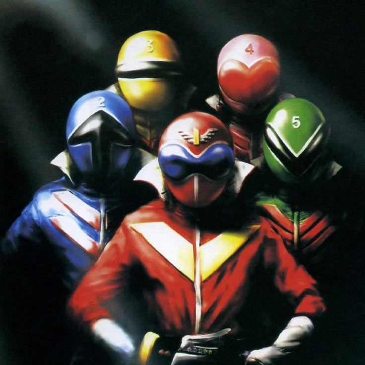 The very first Super Sentai team, Himitsu Sentai Goranger.