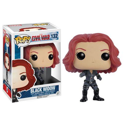 Marvel Captain America Civil War Funko Pop Black Widow