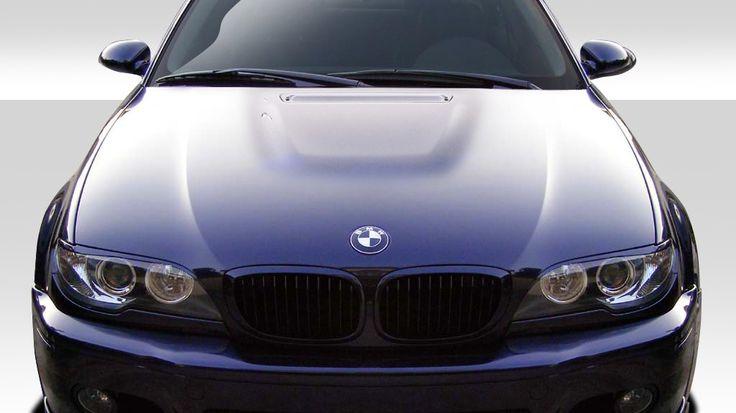 2004-2006 BMW 3 Series E46 2DR Duraflex M3 Look Hood- 1 Piece