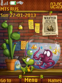 Free Fish Tanking theme by mangotango on Tehkseven