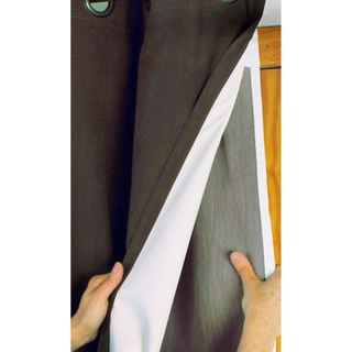 Line your curtains with thermal liners to insulate your home $52  | Overstock.com