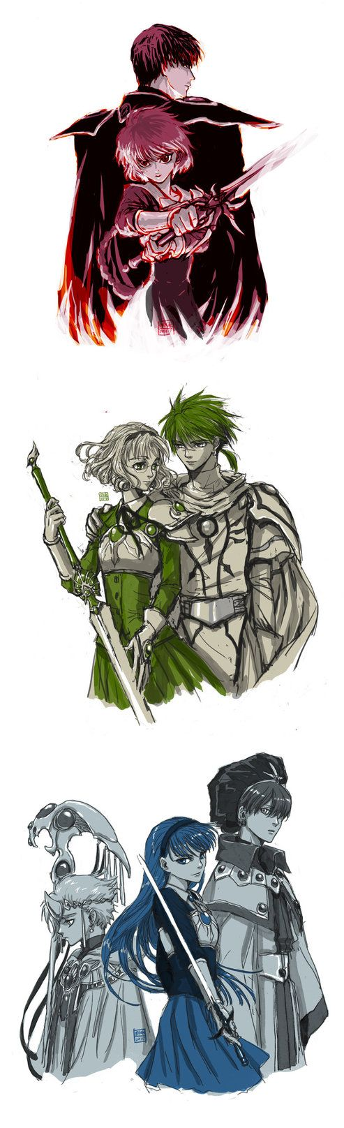 Magic Knight Rayearth by mick347.deviantart.com on @DeviantArt
