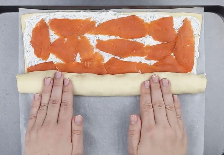 Loihdi+herkullinen+lohirulla+kaupan+valmiista+pizzataikinasta+—+simppeli+resepti+saa+veden+kielelle
