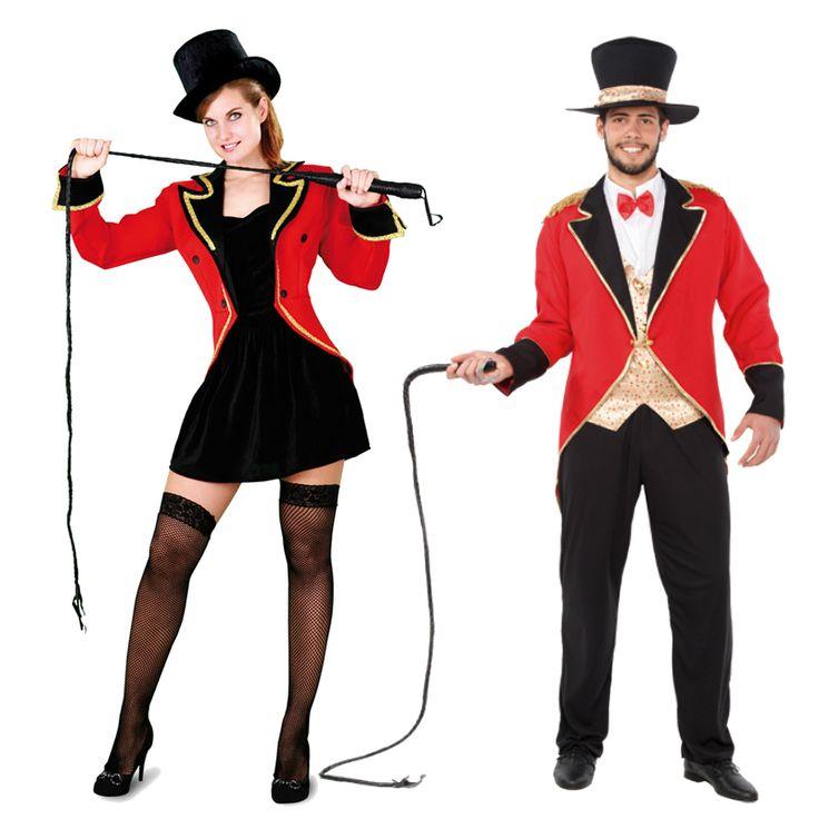 Pareja Disfraces de Domadores #parejas #disfraces #carnaval
