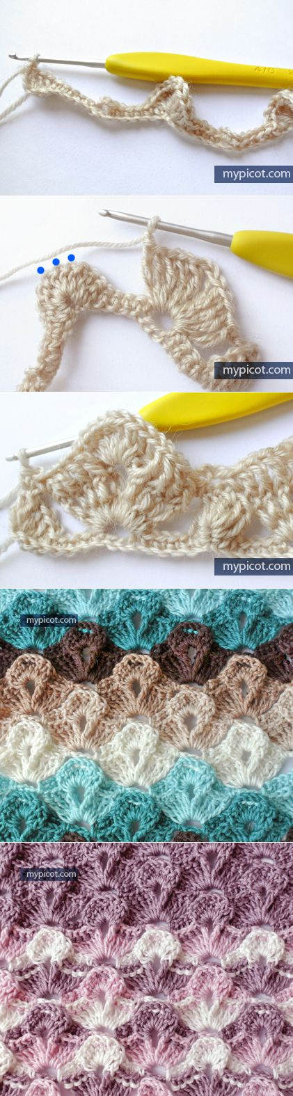 MyPicot | Free crochet patterns                                                                                                                                                      More