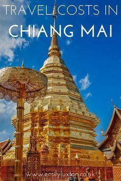 What Things Cost in Chiang Mai, Thailand - a breakdown of travel costs to help you budget!