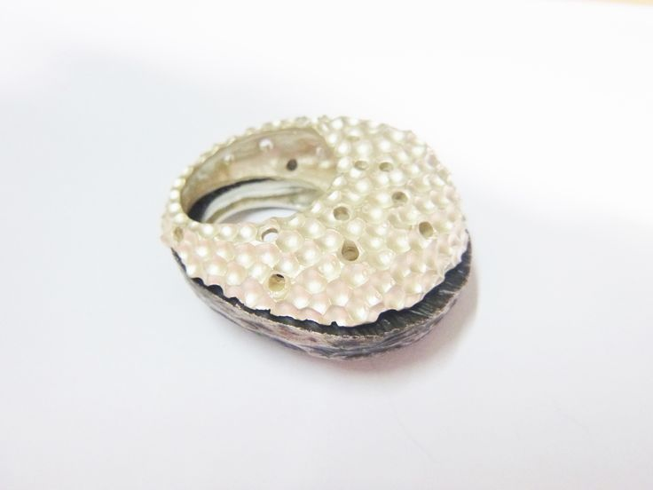 """Sponge"" collection  #handmade #ringd #silver925 #contemporary #jewelry #Autor16"