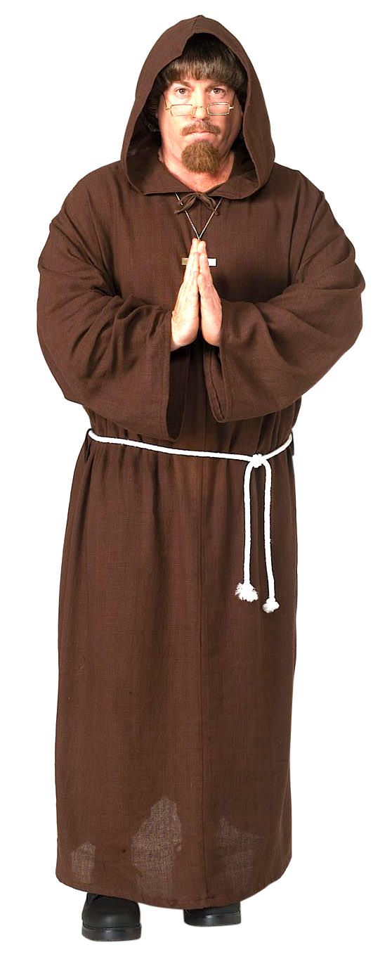 Friar Tuck Deluxe Hooded Monk Costume