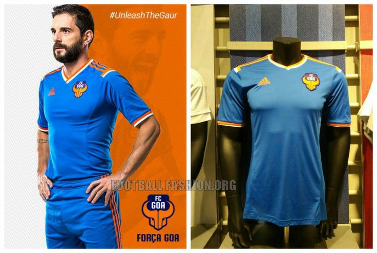 FC Goa 2015 2016 adidas Home Football Kit