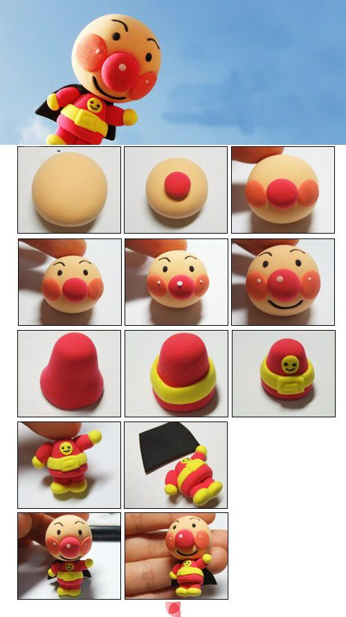 93 best images on pinterest food art japanese for Anpanman cake decoration