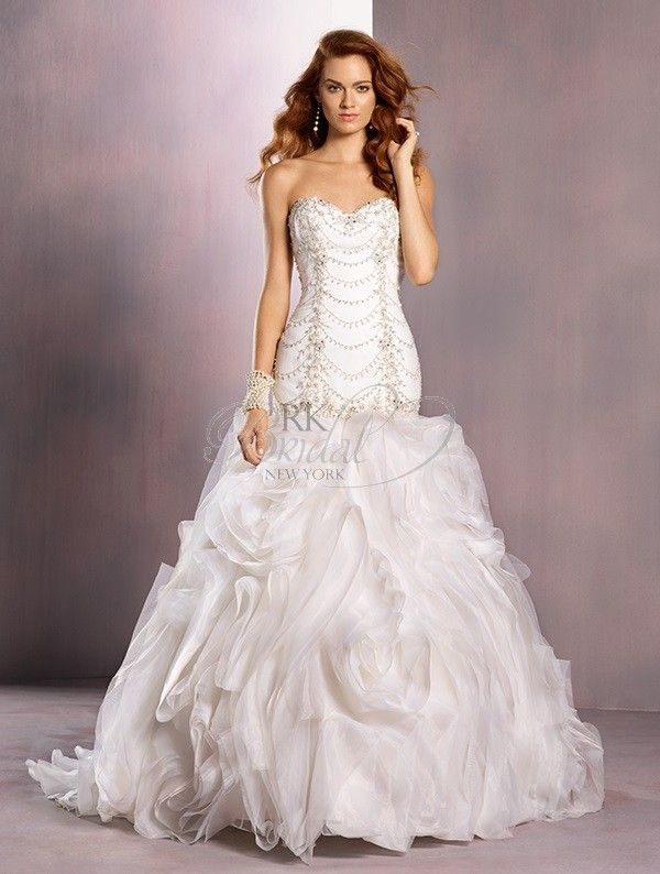 Alfred angelo ariel dress style 703