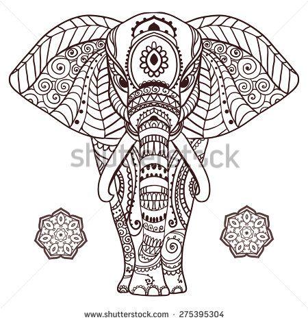 Die besten 17 Ideen zu Gemalte Indische Elefanten auf Pinterest ...